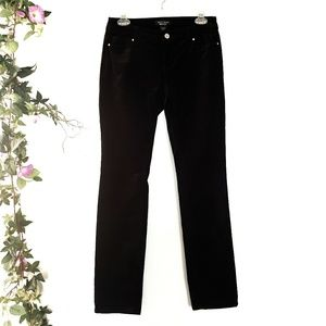 WHBM Feel Beautiful Velvet Embelished Pants 00R